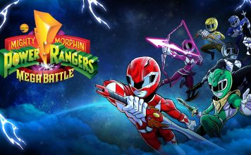 Mighty Morphin Power Rangers Mega Battle Cover