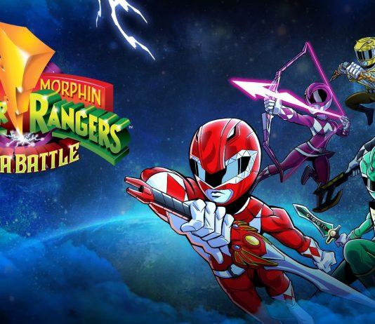 Mighty Morphin Power Rangers Mega Battle Cover