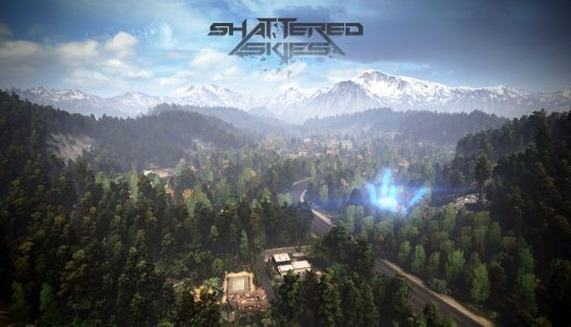 Shattered Skies Logo